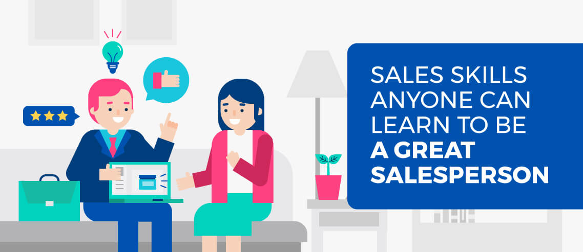 Title card - Sales Skills Anyone Can Learn