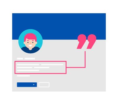 LinkedIn tagline