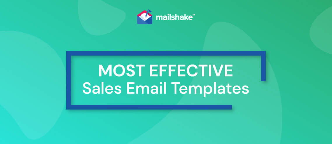 Most Effective Sales Email Templates