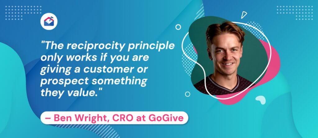 Ben Wright, CRO at GoGive